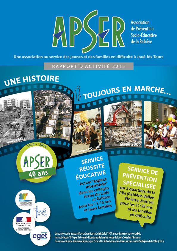 Rapport activite 2015 APSER
